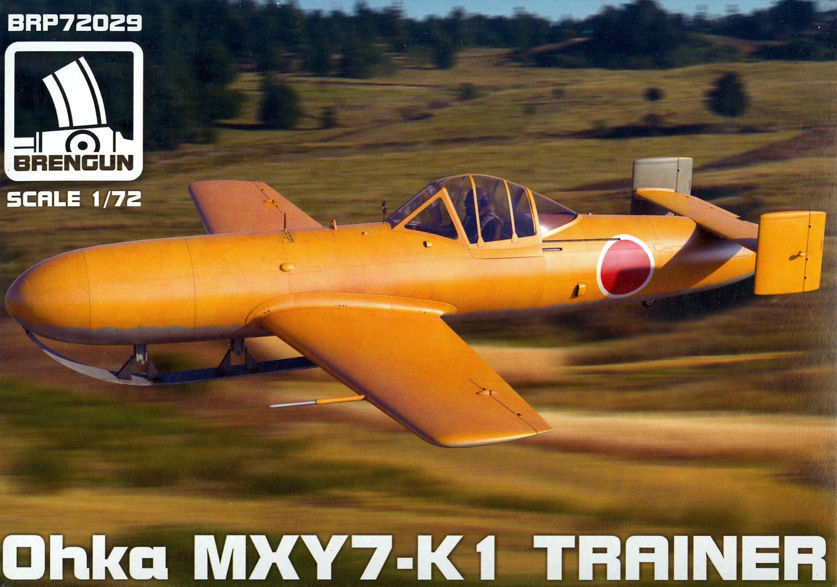 Brengun Models 1//48 OHKA MODEL 22 DETAIL SET Photo Etch Set
