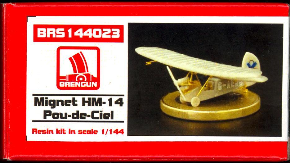 Brengun 1//144 Mignet HM-14 pou-de-Ciel # 144023