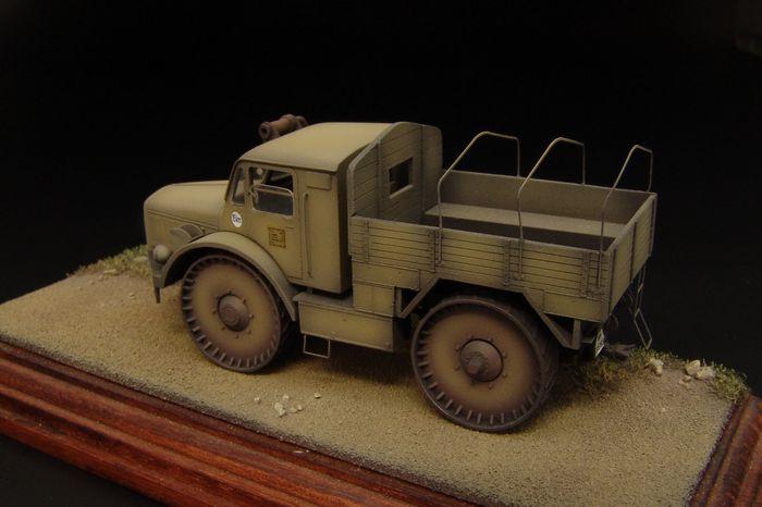 Hauler Models 1//72 SKODA RSO RADSCHLEPPER OST TRUCK Resin /& Photo Etch Model