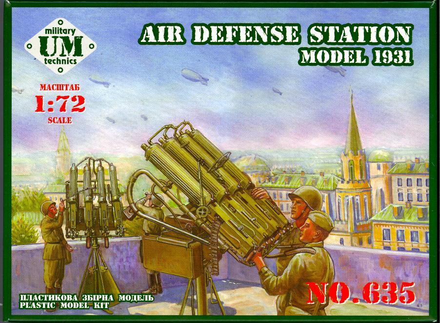 UM-MT Models 1//72 Soviet COUPLED MAXIN MACHINE GUNS ANTI-AIRCRAFT GUN