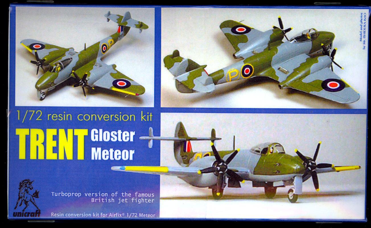 Unicraft Models 1//72 LOCKHEED VTOL F-104 STARFIGHTER Resin