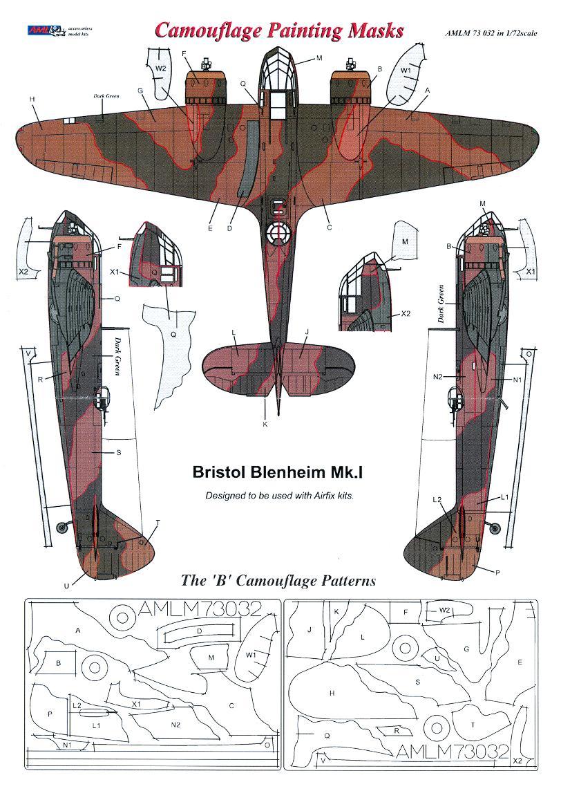 AML 1//48 Hawker Sea Hurricane Mk.IB Camouflage Painting Masks # M4934