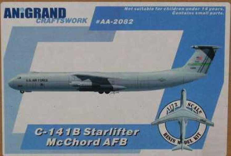 Anigrand Models 1//144 LOCKHEED C-141A STARLIFTER HANOI TAXI