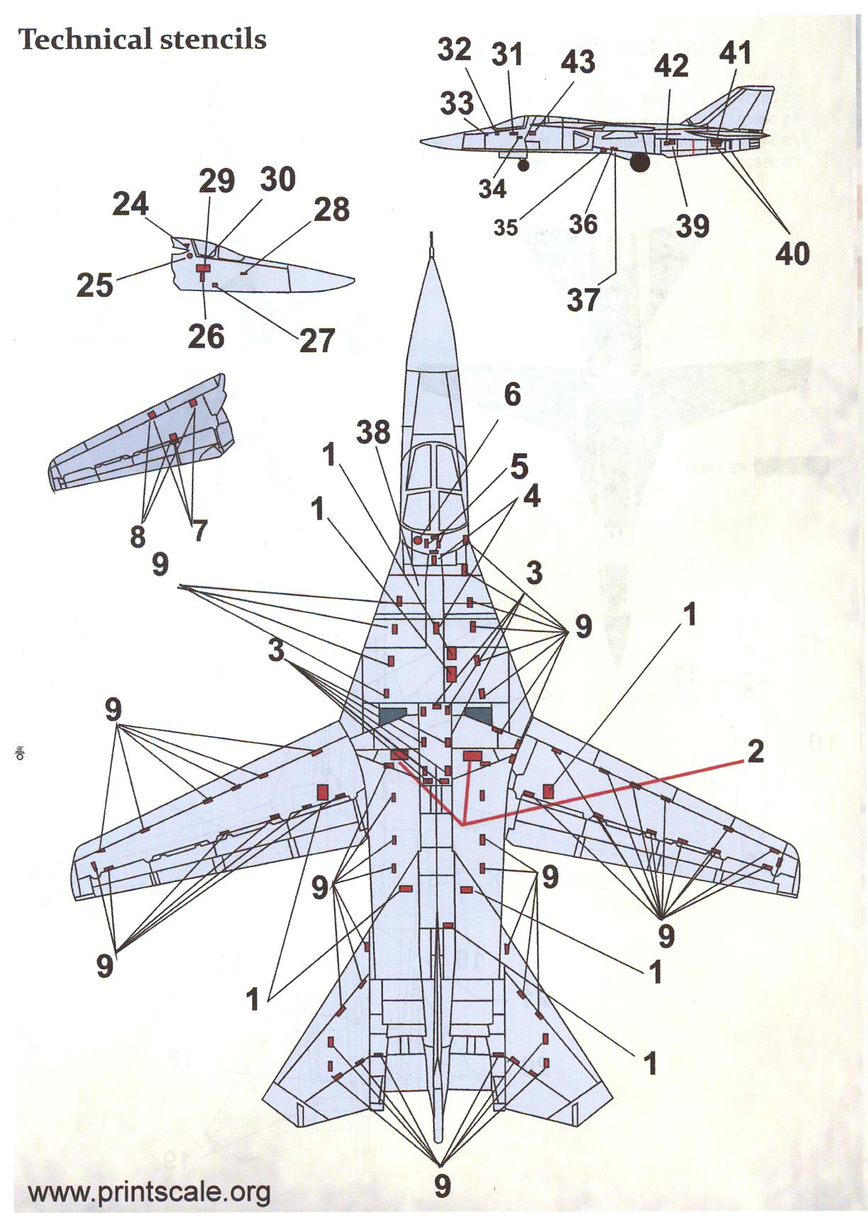 Print Scale Decals 1/72 GENERAL DYNAMICS F-111A AARDVARK ...