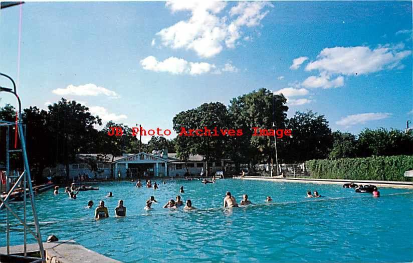 TX, Glen Rose, Texas, Oakdale Park, Swimming Pool ...