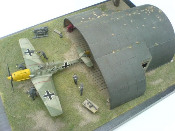 Temporary Shelter Kits : Airmodel products luftwaffe temporary shelter