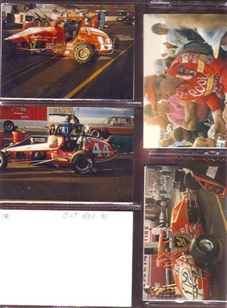 Auto Racing Sprint Cars on 1987 Original Auto Racing Sprint Car Racing Photos Ex Sku 28188