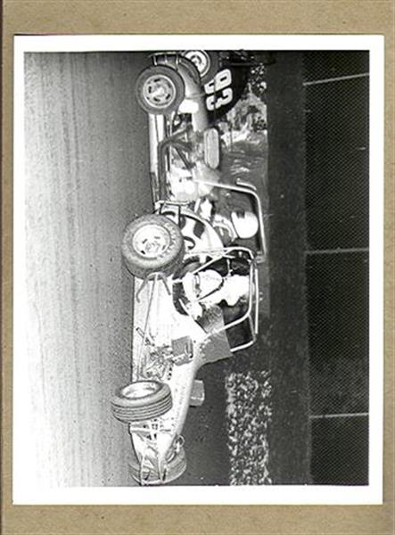 Autographs Auto Racing on Vintage Richard Wright Original Auto Racing Photo Crash Ex Sku 22044