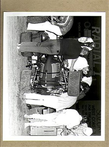 Autographs Auto Racing on Vintage Richard Wright Original Auto Racing Photo Garage Work Ex  Sku