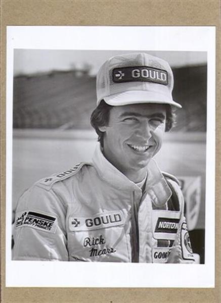 Autographs Auto Racing on 1978 Gould Penske Auto Racing Rick Mears Photo Ex Sku 21517   Ebay
