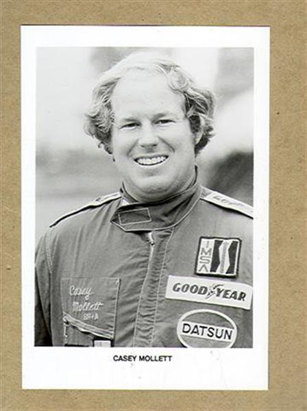 Auto Racing Books on 1980 Casey Mollett Auto Racing Drivers Photo Ex  Sku 21566    Ebay